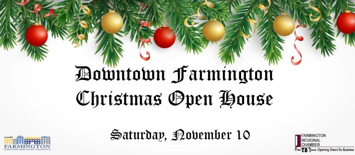 Downtown Farmington Christmas Open House
