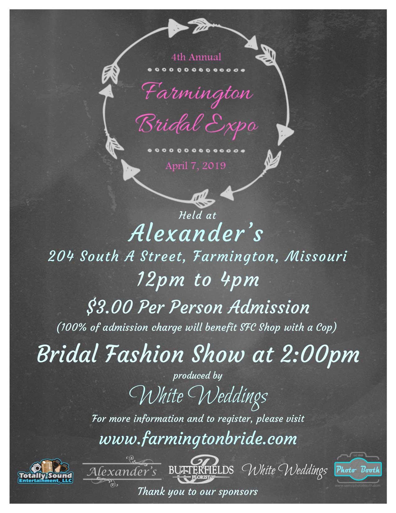Farmington Bridal Expo 2019