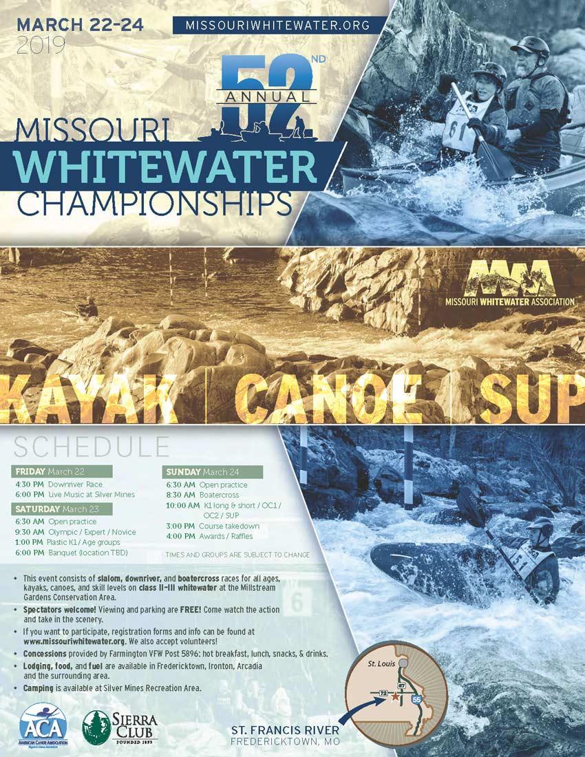52nd Annual Missouri Whitewater Championships